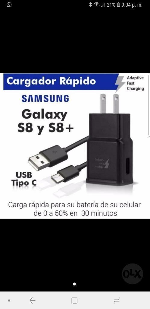 Cargador Original Samsung Carga Rapida