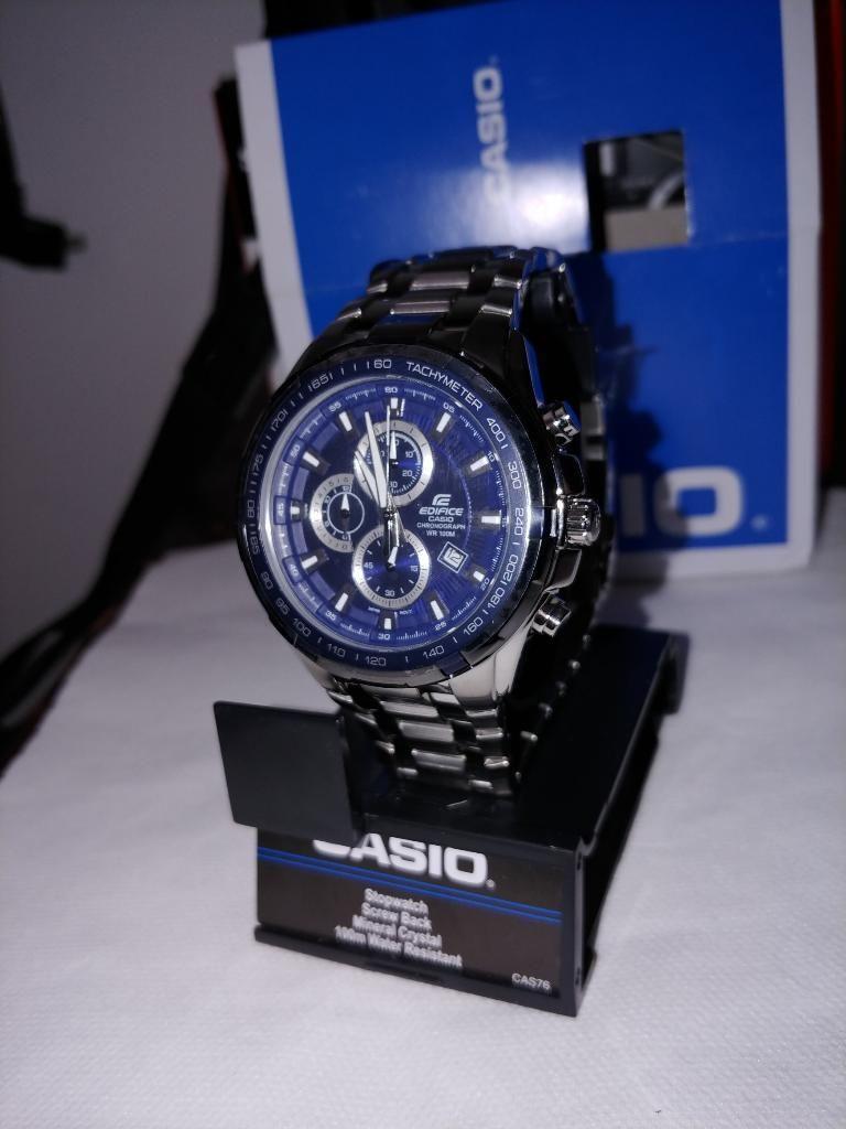 Reloj Casio Edifice Ef 539d Nuevo Caja