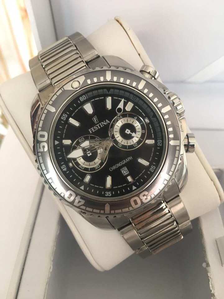 Reloj Festina de 43mm para caballero original
