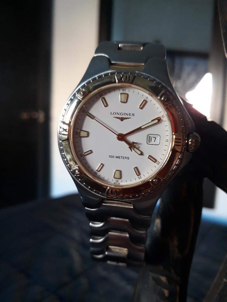 Reloj Longines Acero Y Oro 14 K