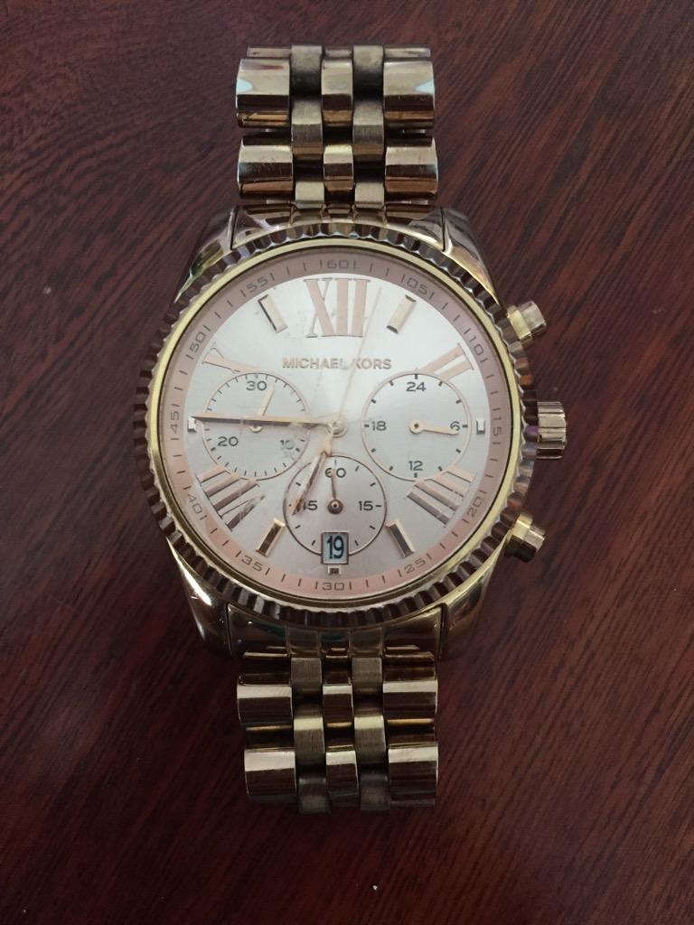 Reloj Michael Kors Mujer Usado