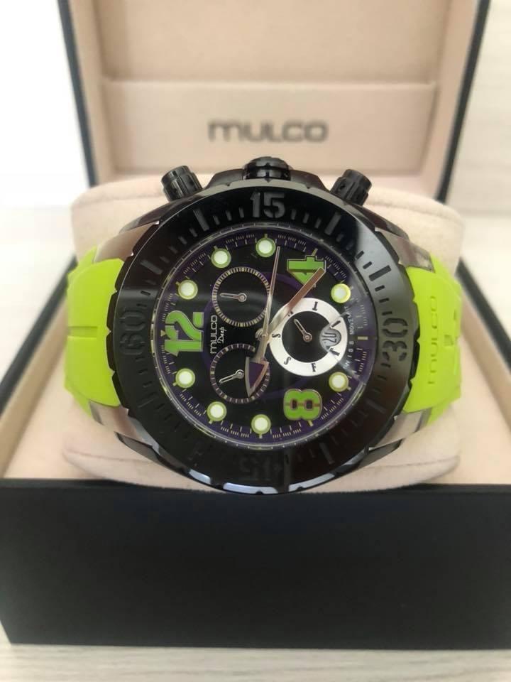 Reloj Mulco Deep Verde para caballero original