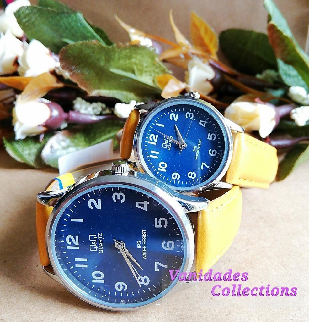 Reloj para Pareja Qq Original