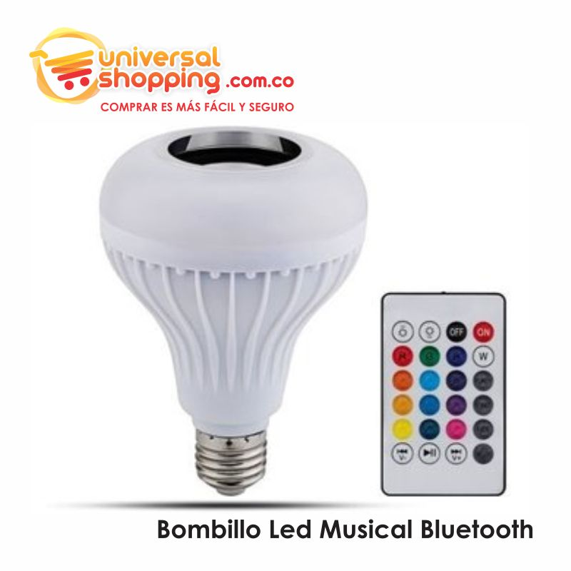 Bombillos Musical con luz led