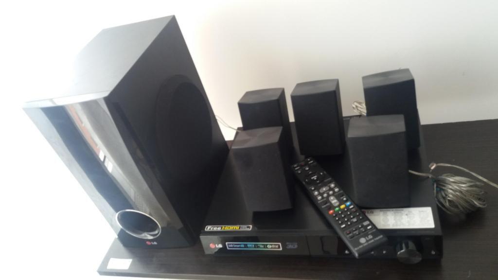 TEATRO EN CASA MARCA LG CON BLU RAY, SMART TV Y 3D EN