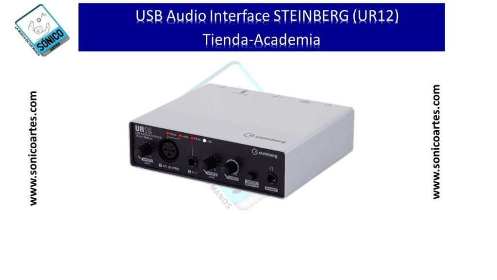 USB AUDIO INTERFACE STEINBERG UR12