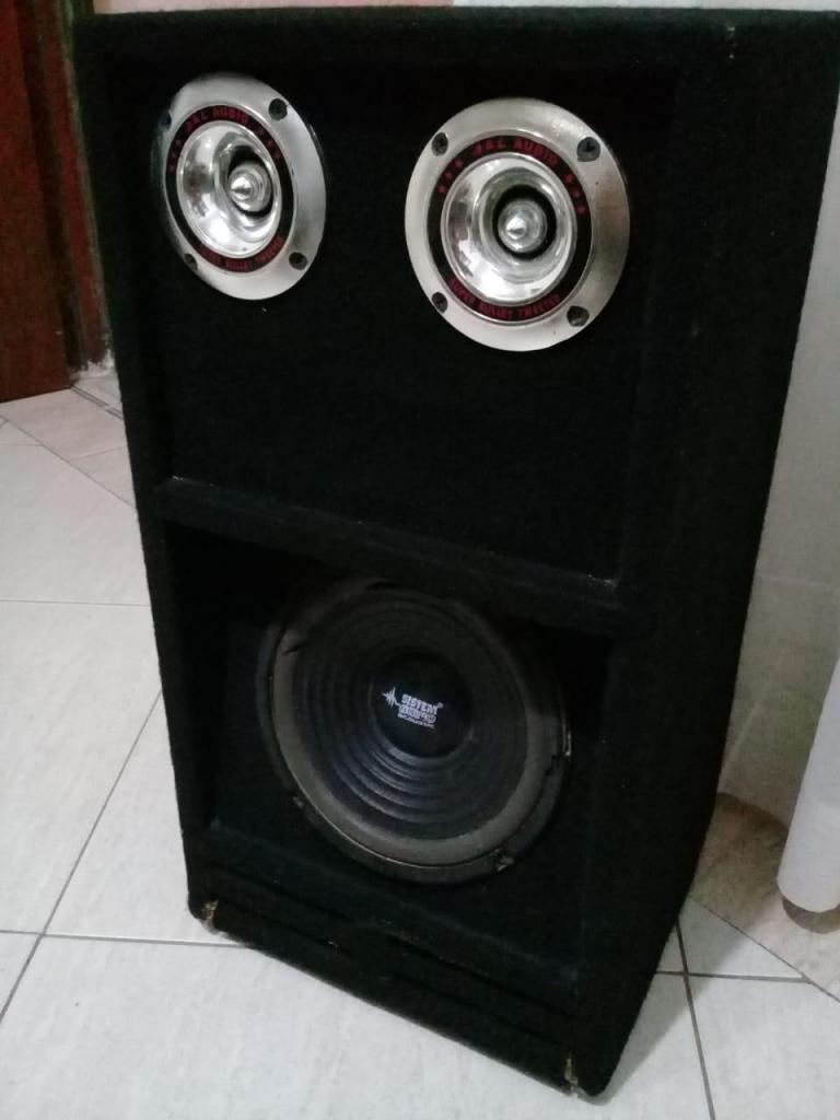 caja de sonido para parlante de 8 pulgadas