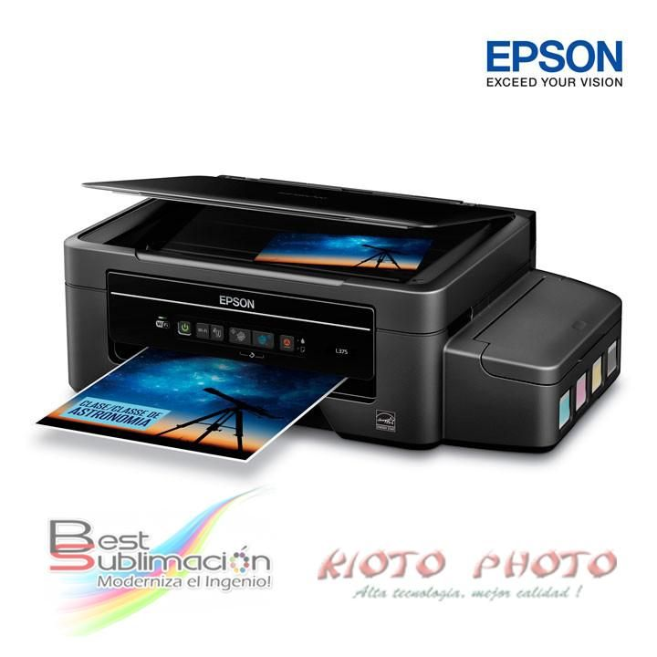 IMPRESORA EPSON L395 Wi Fi. Tintas Originales ¡¡¡