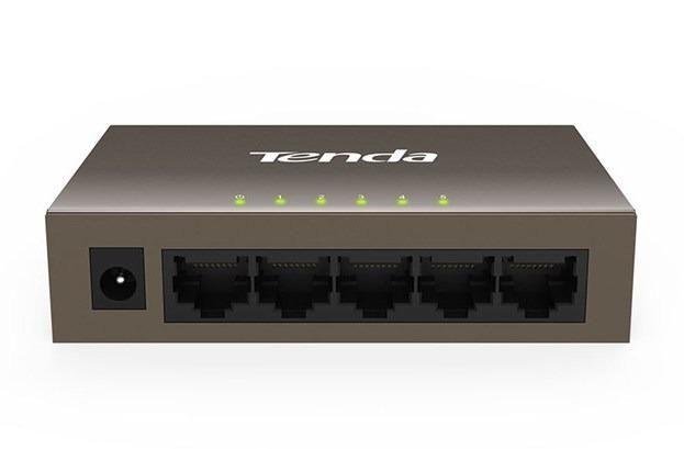 Switch Ethernet de 5 puertos de 100 Mbps Tenda precio segun