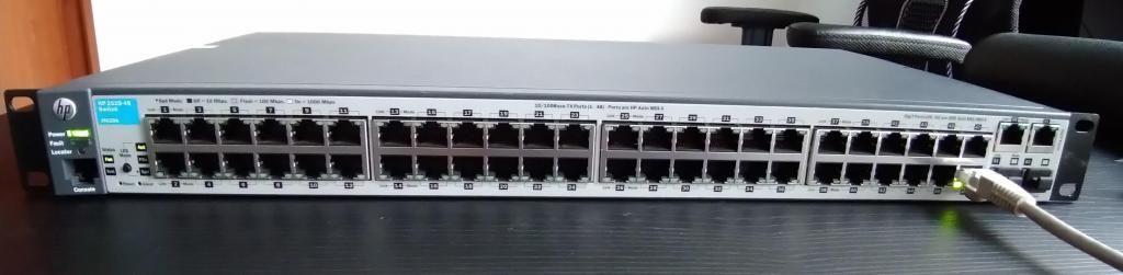 Switch HP ProCurve  de 48 Puertos 2 Gigabit 2 SFP
