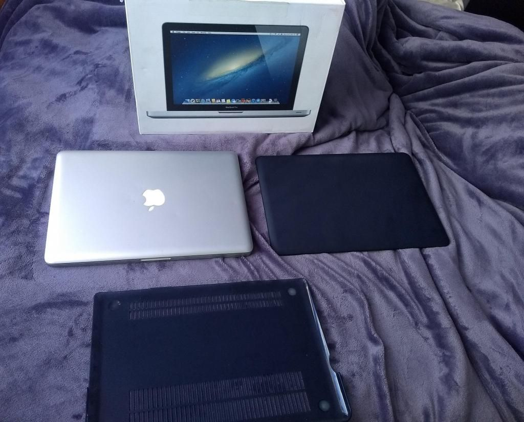 portatil macbook pro core 7 8 gb de ram 750 disco duro