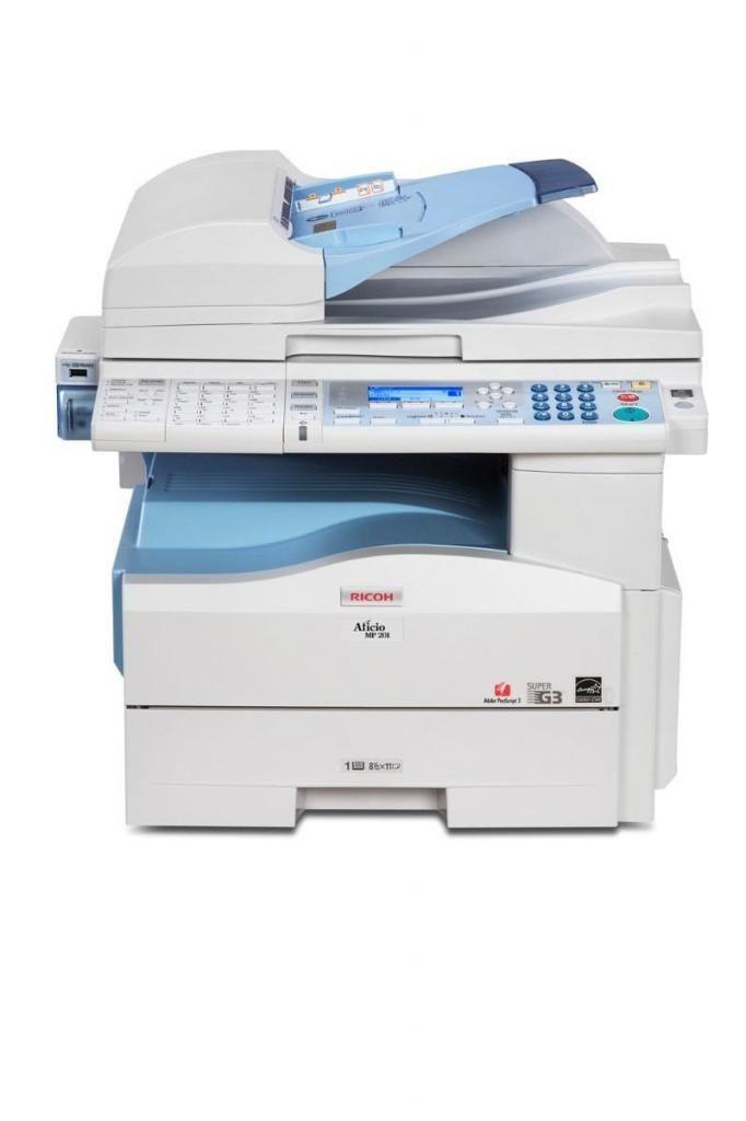 venta de fotocopiadora ricoh mp 201
