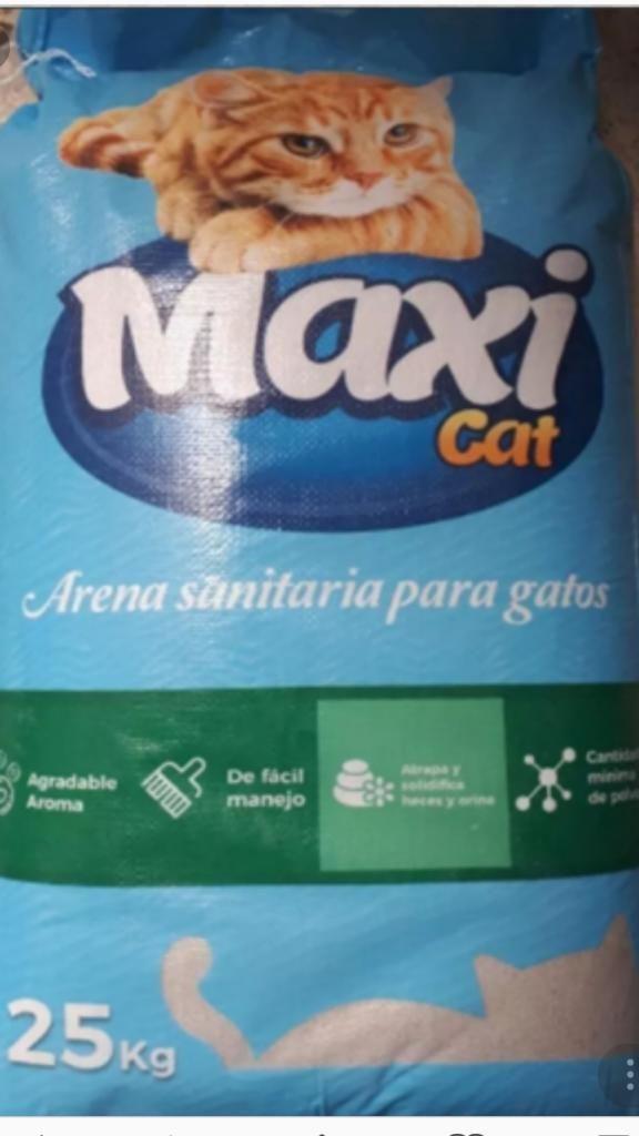 Arena Sanitaria para Gatos Maxicat X 25k