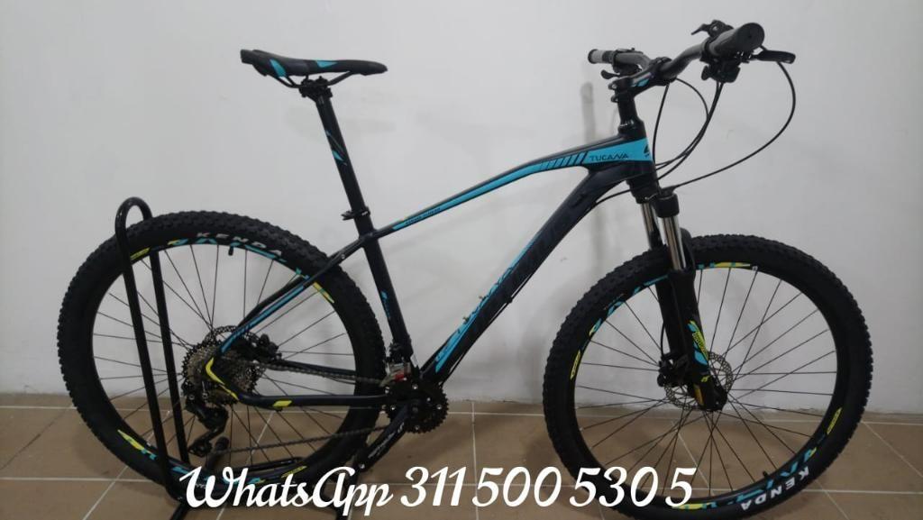 Bicicleta Optimus Tucana con Deore de 10