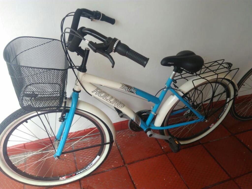 Bicicleta Playera, Cambios Tipo Moto