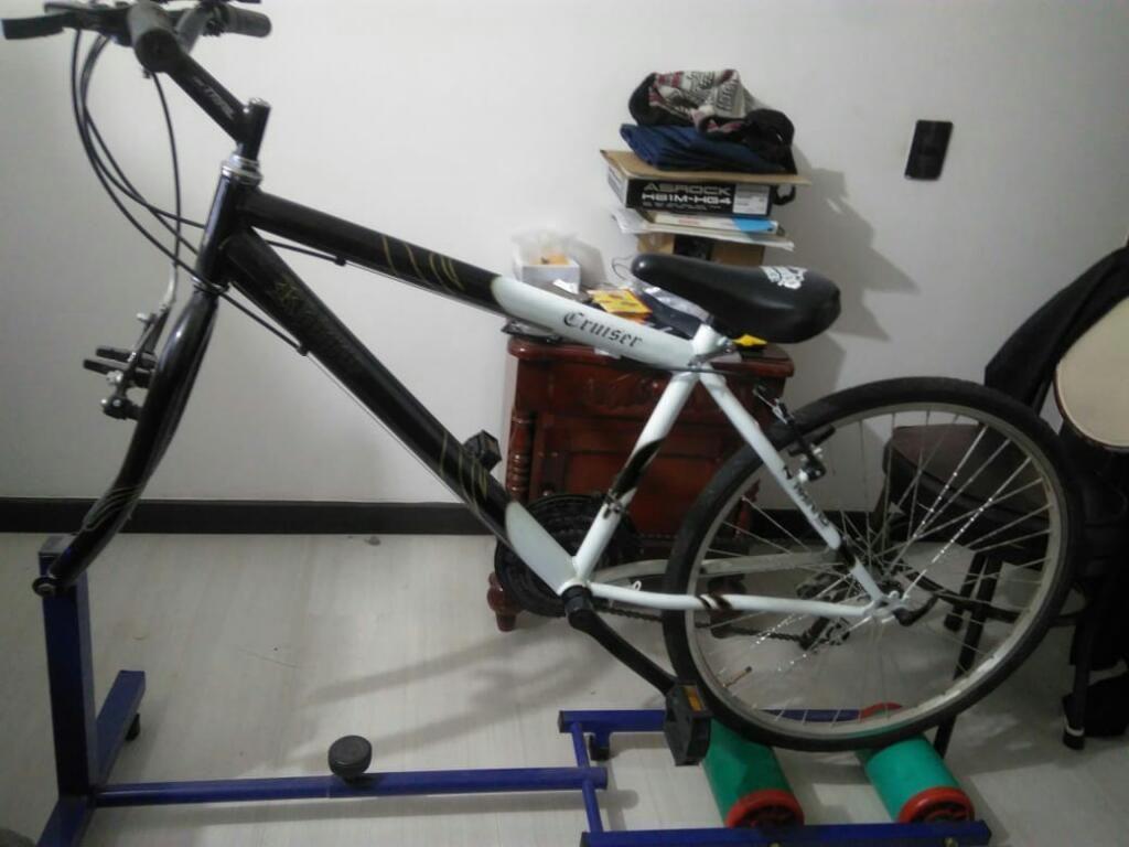 Bicicleta Todo Terreno Rodillos