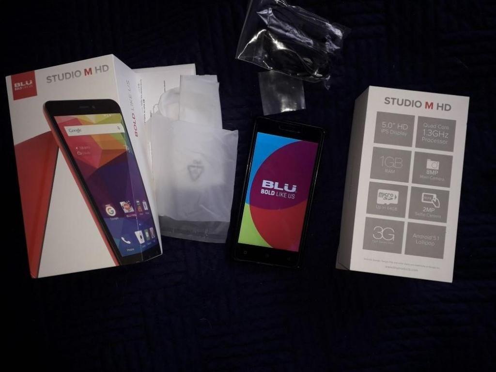 Celular Blu Studio M Hd gb dual sim card
