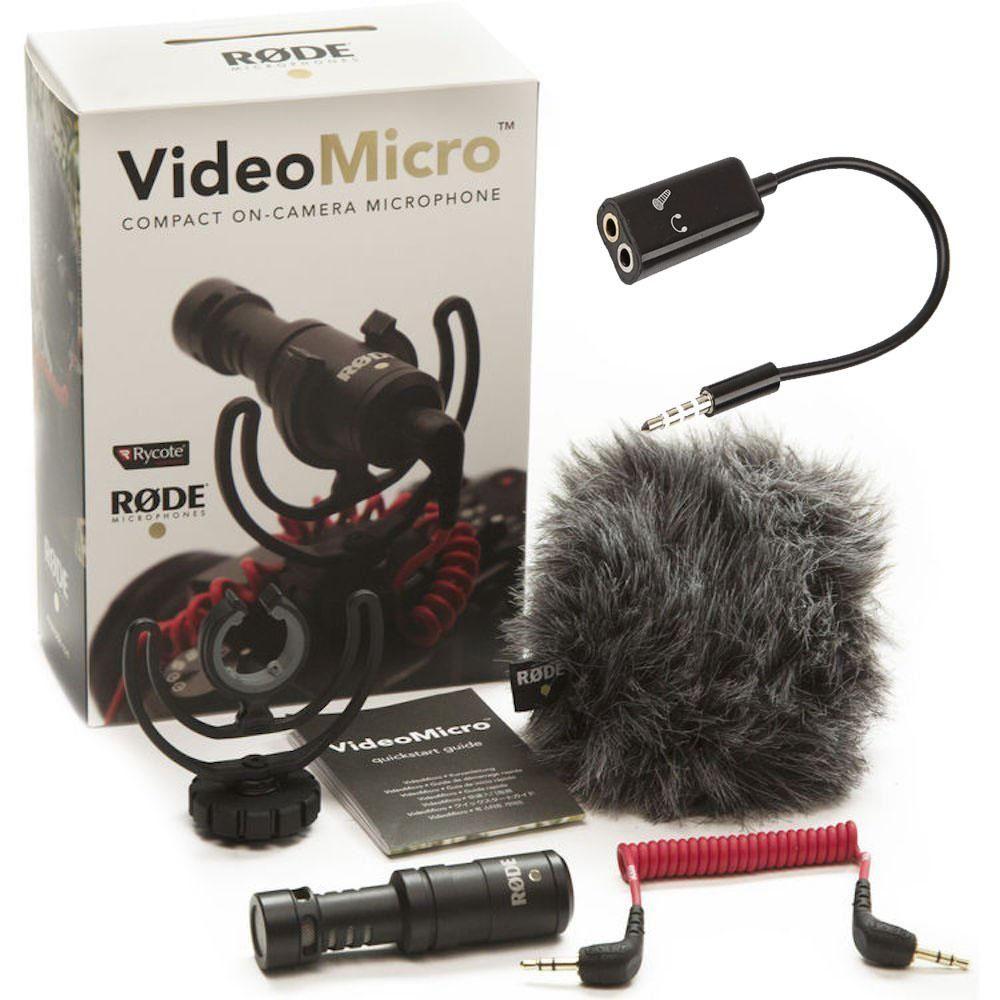 Combo Micrófono Rode para Celular y DSLR Estabilizador