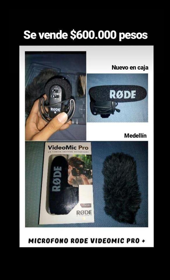 Microfono shotgun RODE VIDEO MIC PRO