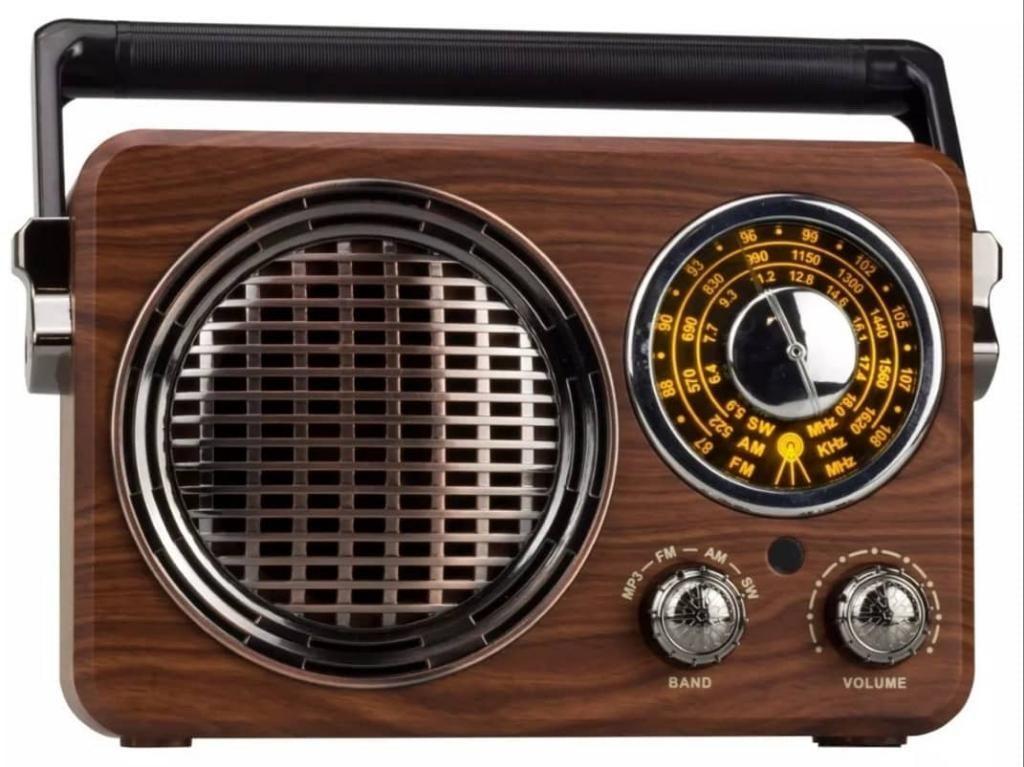 Radio Retro Cmik Am Fm Sw Bt Mk612