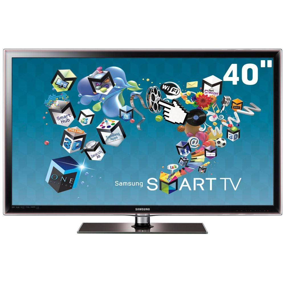 Samsung LED 3D TV 40 pulgadas