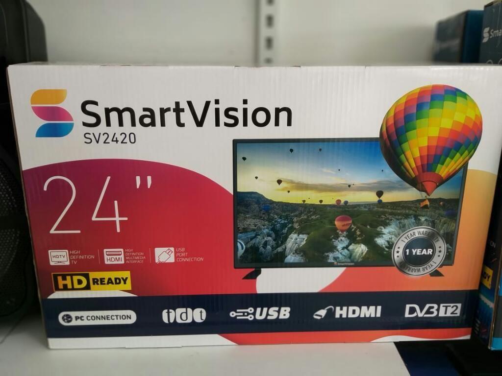 Televisores Smartivision de 24 Pulgadas