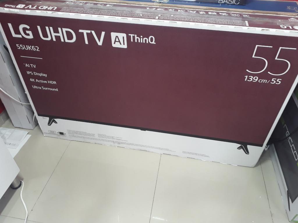 Tv Lg Uhd 4k de 55 Pulgada