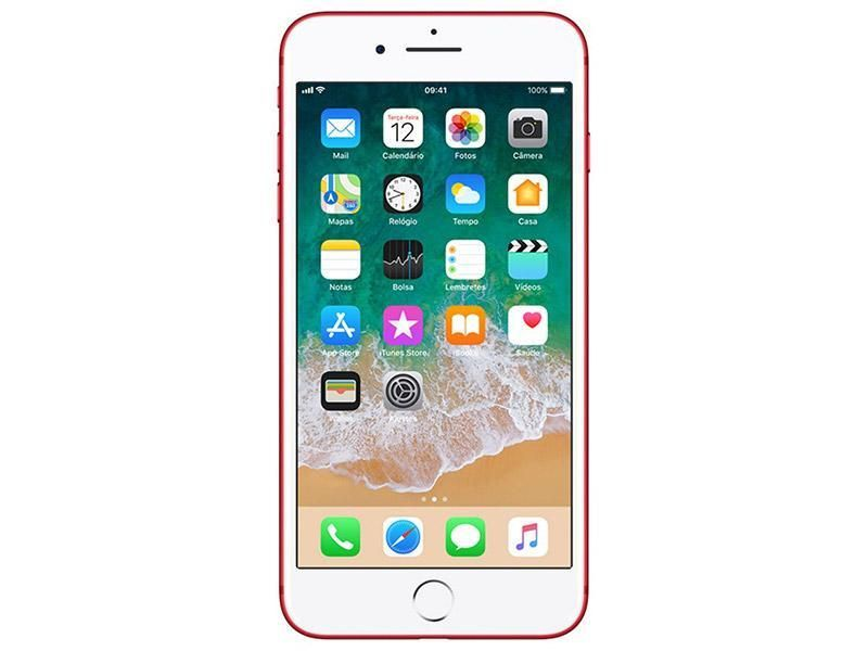 iPhone 7 de 32 GB color rojo - estado 10 de 10, poco uso -