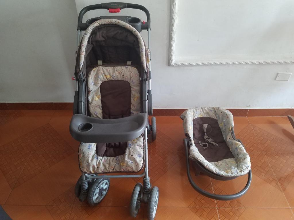 Coche para bebe y silla para carro