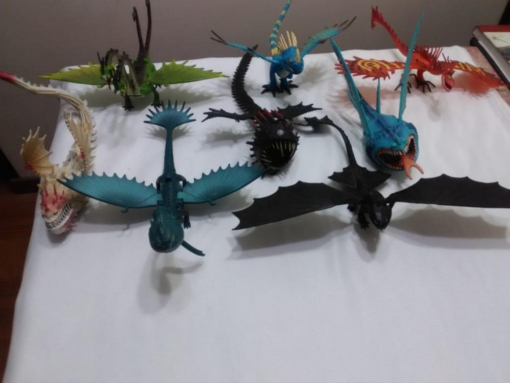Combo 8 Dragones Pelicula Chimuelo