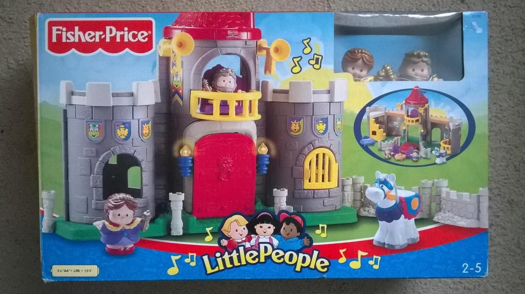 Fisher – Price… Little People Castillo Medieval 2– 5