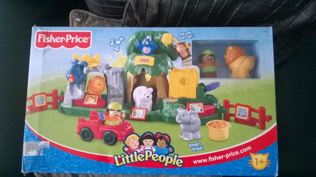 Fisher Price Little People Zoologico Musical... 2 5 Años