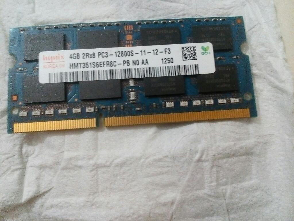 Memoria Ram 4 Gb Portátil
