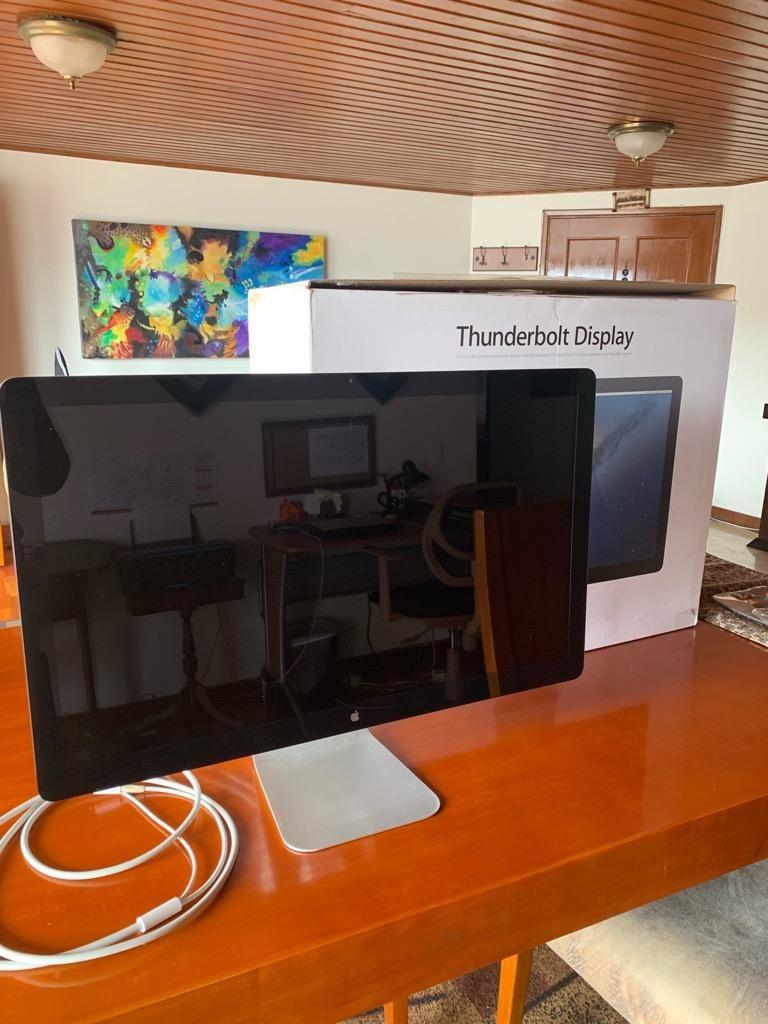 "Pantalla Apple Thunderbolt Display 27 """