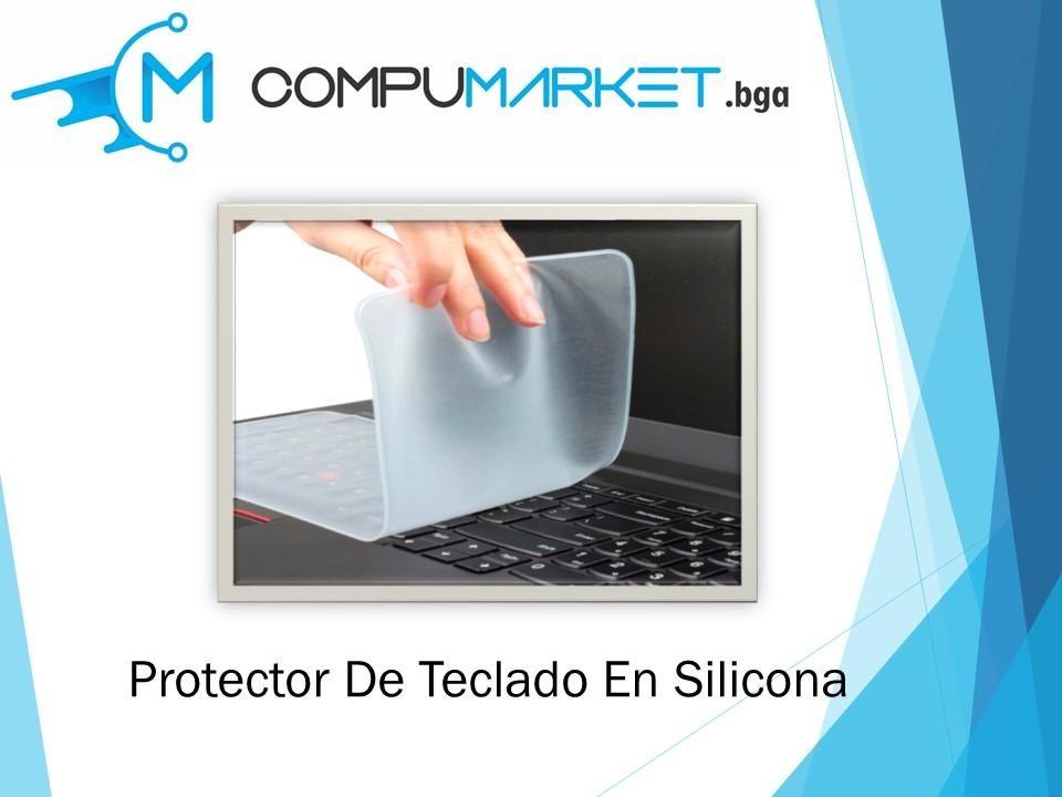 Protector de teclado para portatil en silicona