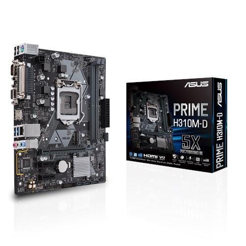 board asus prime h310md intel 8 generacion