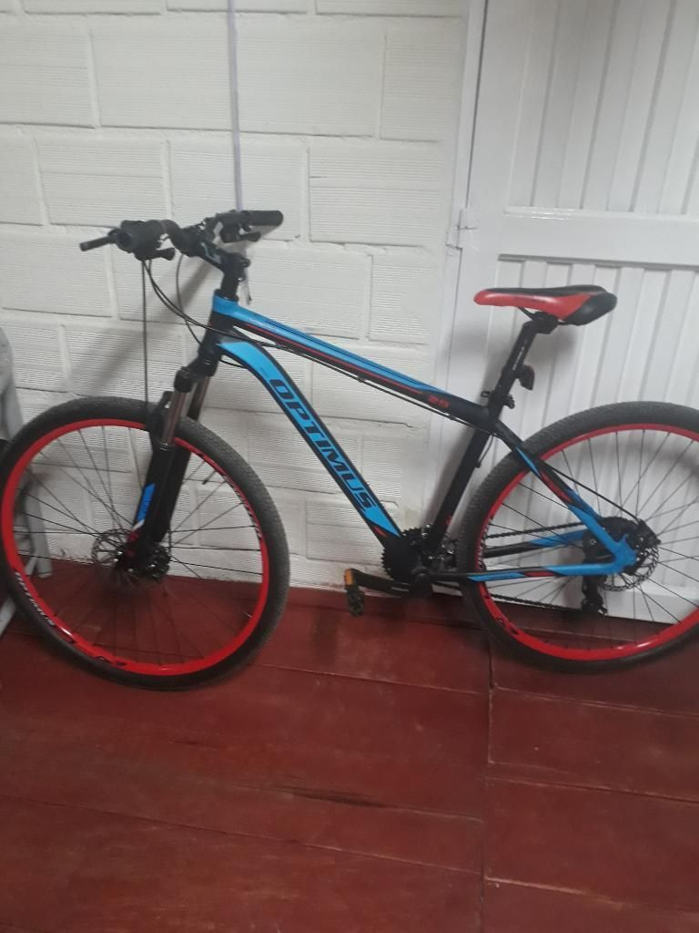 Bicicleta Optimus Rin 29.bloqueo