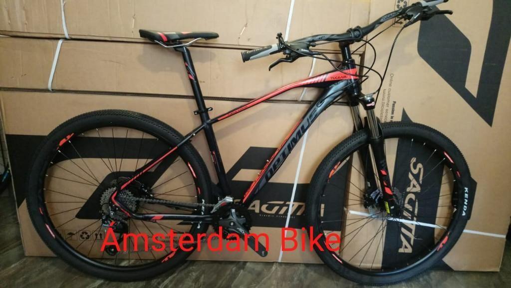 Bicicleta Optimus Tucana Rin 29 de 9 Vel
