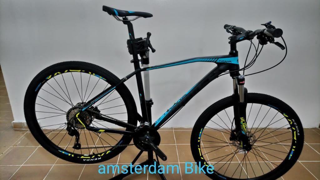 Bicicleta en Aluminio Optimus Tucana 9 V