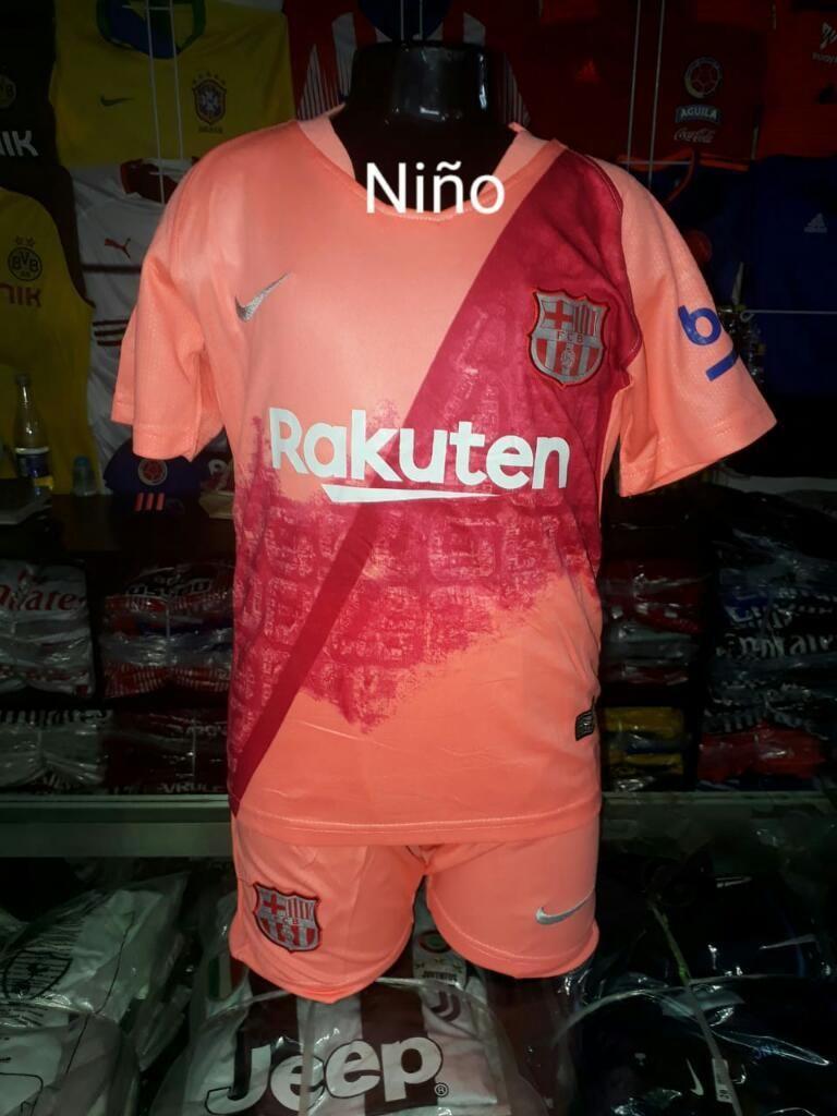 Camiseta Barcelona para Niño