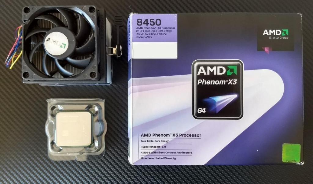 VENDO O CAMBIO Combo Procesador AMD Phenom X3 tres nucleos