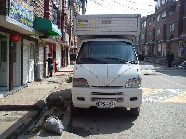 Alquiler De Camioneta De Furgón en Bogotá.