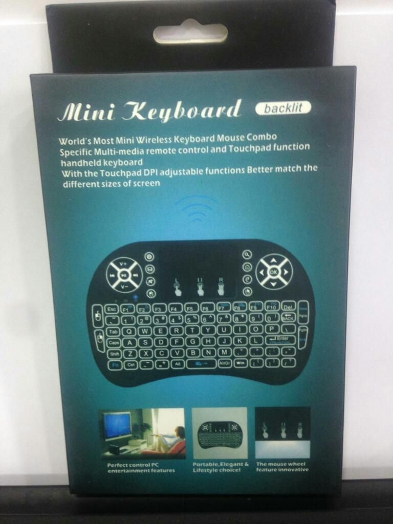 Mini Teclado Inalambrico Smart Tv