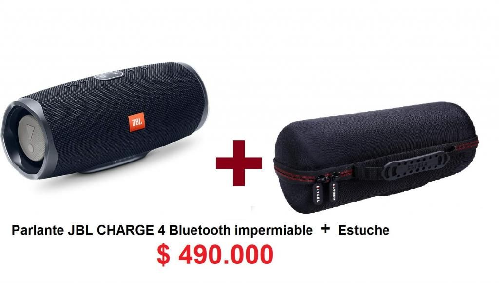 Parlante JBL CHARGE 4 Bluetooth original Estuche