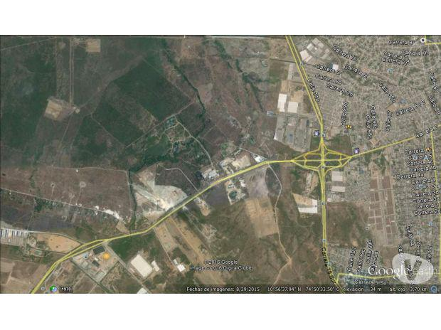 SE VENDE LOTE 60 HECTAREAS GALAPA INDUSTRIAL