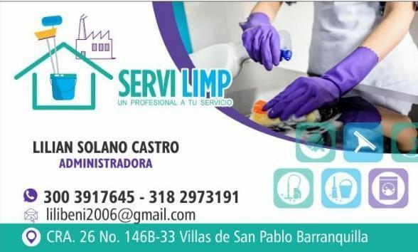 SERVICIO DE ASEO Y PLANCHADO