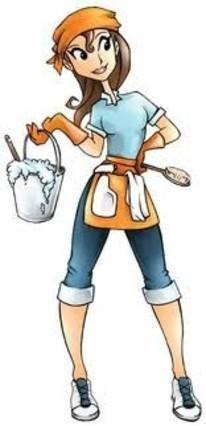 Servicio de limpieza doméstica.