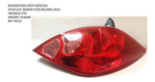 Stop Derecho Nissan Tiida Hb 2005-2014 Tyc