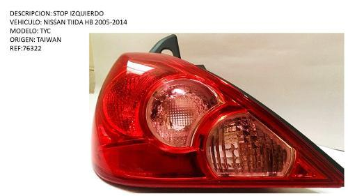 Stop Izquierdo Nissan Tiida Hb 2005-2014