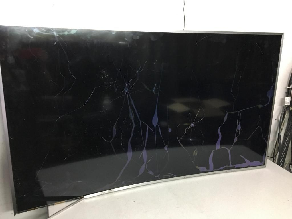 Tv Samsung Led Curvo Un55kuk Pantalla Rota !!leer!!